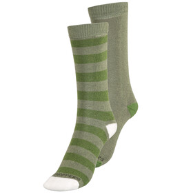 Craghoppers NosiLife Travel - Calcetines Niños - Twin Pack verde